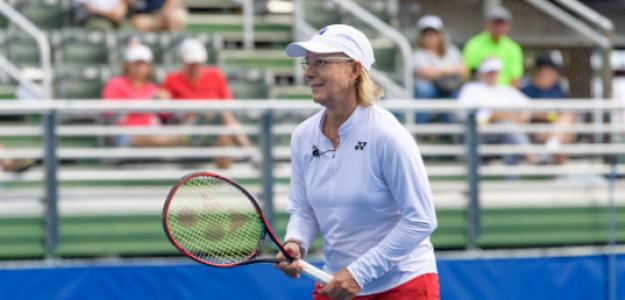 Martina Navratilova critica a Margaret Court. Foto: gettyimages