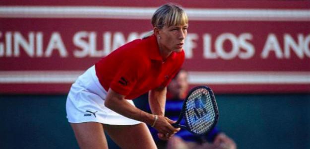 Martina Navratilova, leyenda del tenis. Fuente. Getty