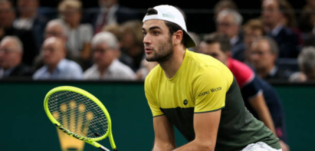 Matteo Berrettini, opciones en Nitto ATP Finals 2019. Foto: gettyimages