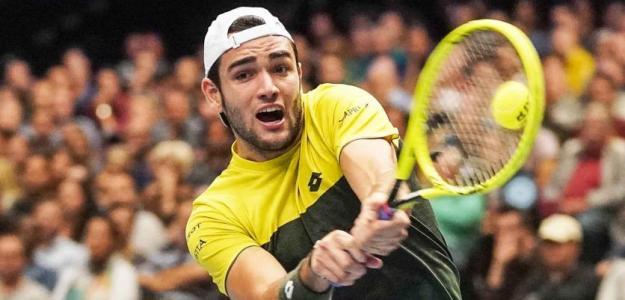 Matteo Berrettini, plaza para Nitto ATP Finals 2019. Foto: gettyimages