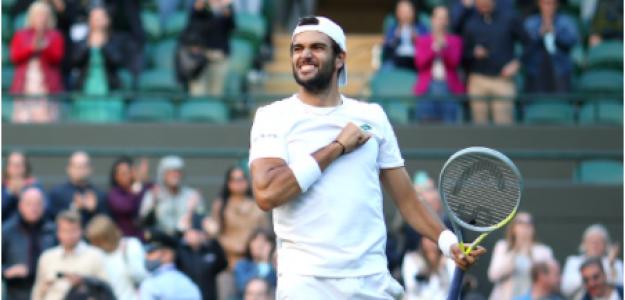 Matteo Berrettini, confianza título Wimbledon 2021. Foto: gettyimages