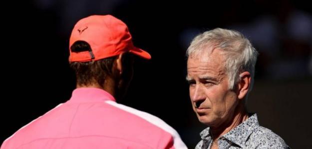 John McEnroe duda que Nadal pueda jugar US Open y Roland Garros en 2020. Foto: gettyimages