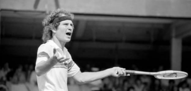 Pasó a la historia aquella discusión de McEnroe en Wimbledon en 1981. Foto. Getty