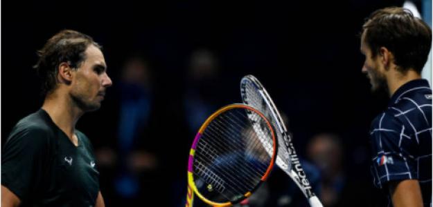 Daniil Medvedev, opciones asaltar top-2 ranking ATP. Foto: gettyimages