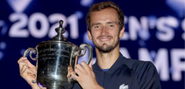 El próximo Grand Slam de Medvedev. Foto: Getty