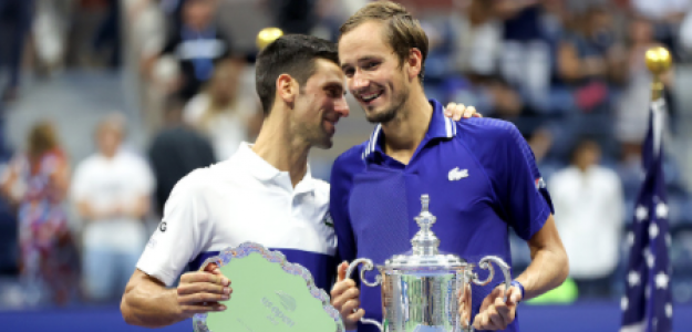 Daniil Medvedev, opciones discutir número 1 Novak Djokovic en 2021. Foto: gettyimages