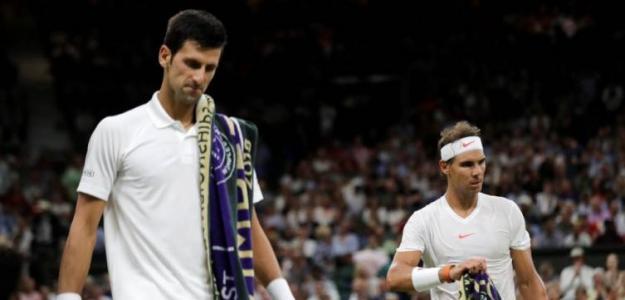 Novak Djokovic y Rafael Nadal en Wimbledon 2018, mejor partido del año