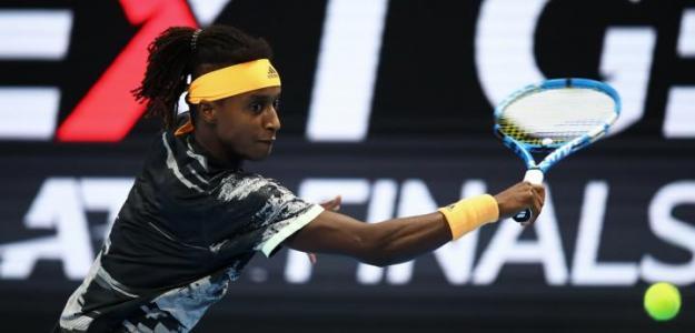 El joven de origen etíope durante su participación en las Next Gen ATP Finals.