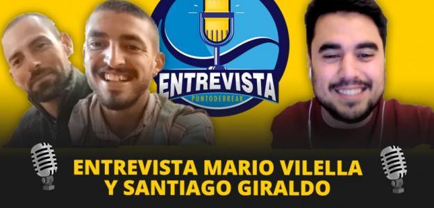 Entrevista en Youtube con Mario Vilella y Santiago Giraldo. Fuente: PDB