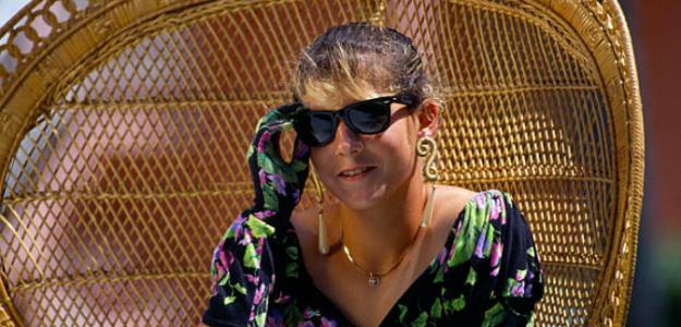 Monica Seles, reina del circuito con 17 años. Fuente: Getty