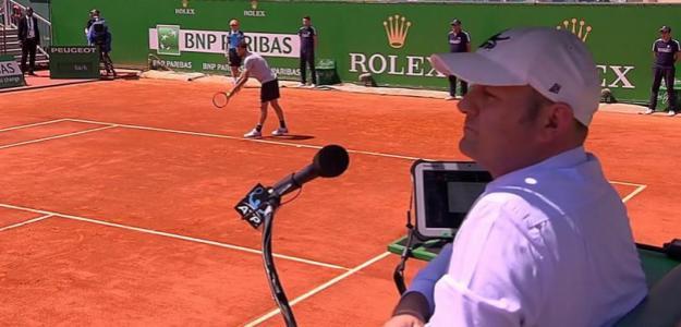 Indignación ante las imágenes donde Moscarella acosa a una niña recogepelotas. Foto: TennisTV