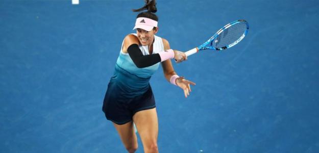 Muguruza se metió en la 3R del Open de Australia. Foto: Getty