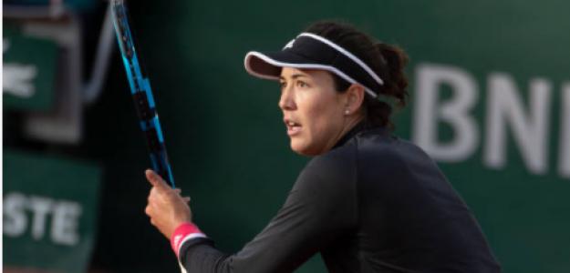 Garbiñe Muguruza en Roland Garros. Fuente: Getty