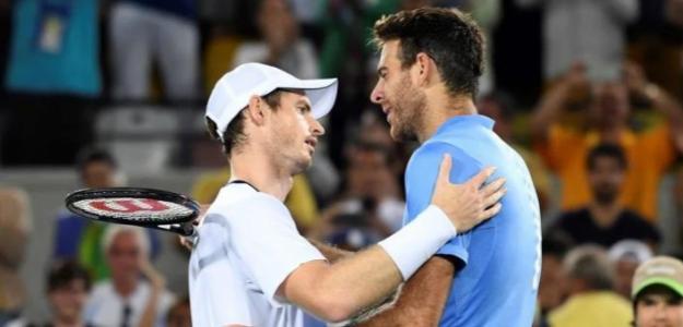 Andy Murray y Juan Martín Del Potro, última oportunidad en Juegos Olímpicos Tokio. Foto. gettyimages
