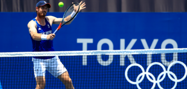 Murray se prepara para los Juegos Olímpicos de Tokio. Fuente: @TeamGB