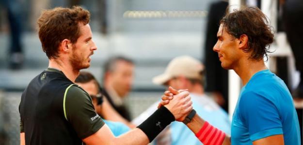 Andy Murray habla de Rafael Nadal en Roland Garros. Foto: gettyimages