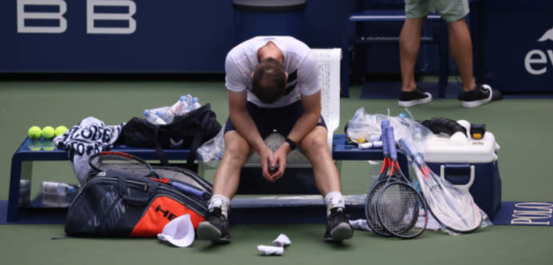 """Andy Murray: """"No imaginaba que sería capaz de jugar un partido de cuatro horas y media"""". Foto: Getty"""