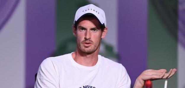 Andy Murray en sala de prensa. Fuente: Wimbledon