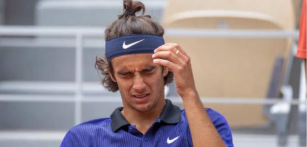 """Musetti: """"No tenía sentido seguir jugando, había llegado a mi límite"""". Foto: Getty"""