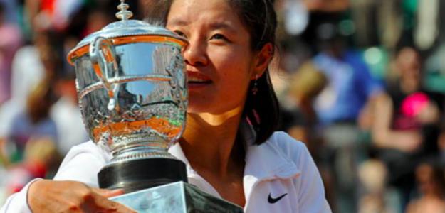 Na Li levanta el título de campeona de Roland Garros. Fuente. Getty