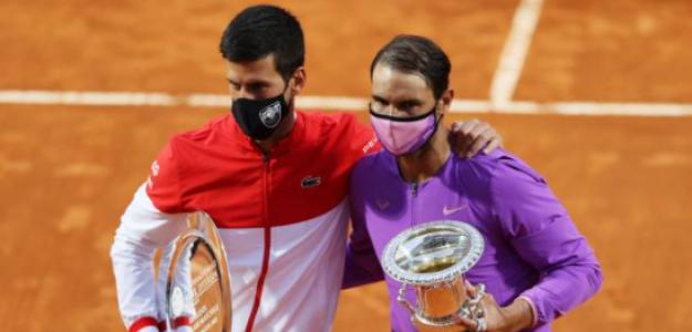 Así fue la estrategia de Nadal para vencer a Djokovic en la final de Roma. Foto: Getty