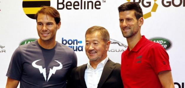 Nadal y Djokovic en Kazajistán, criticados por torneo de Viena. Foto: gettyimages