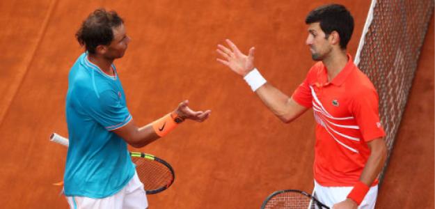 Rafael Nadal y Novak Djokovic luchan por número 1 del mundo. Foto: gettyimages