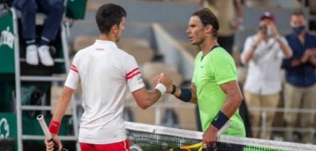 """Rafa Nadal: """"Djokovic es el tenista perfecto, no tiene puntos débiles"""". Foto: Getty"""