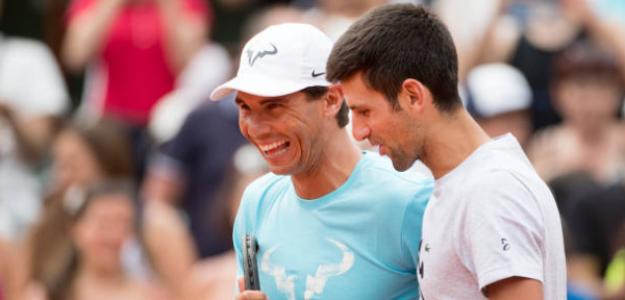 Djokovic tiene como objetivo ganar a Nadal en tierra en este 2019. Foto: Getty
