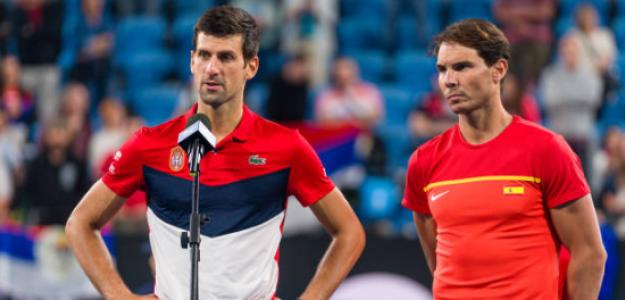 """Rafa Nadal: """"Si nos obligan a ponernos la vacuna, Djokovic se la tendrá que poner"""". Foto: Getty"""