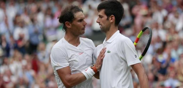 Rafael Nadal y Novak Djokovic, favoritos de casas apuestas Wimbledon 2019. Foto: gettyimages