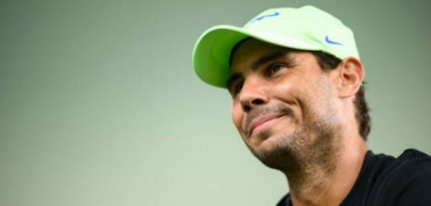 """Rafa Nadal: """"Nunca rompí una raqueta ni me comporté como un loco en la pista"""". Foto: Getty"""