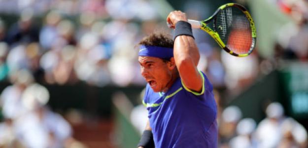 Rafael Nadal en Roland Garros 2017. Fuente: Getty