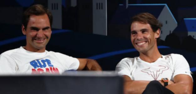 Roger Federer habla sobre la lesión y la infiltración de Nadal. Foto: Getty