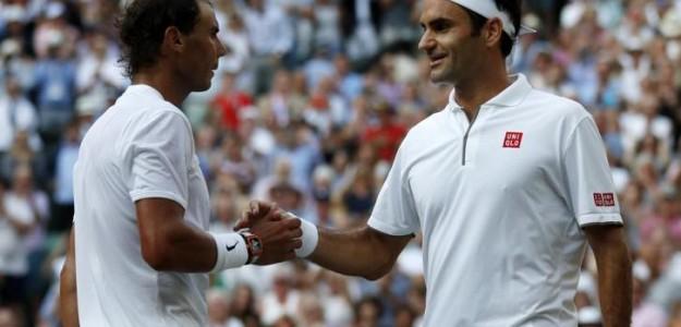Nadal y Federer en la Laver Cup. Foto: Getty Images