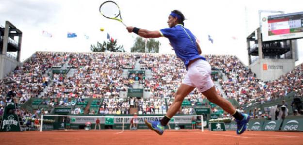 Rafa Nadal y su juego perfecto para la tierra batida. Foto: Getty