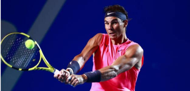Rafael Nadal vence a Miomir Kecmanovic en ATP 500 Acapulco 2020. Foto: gettyimages