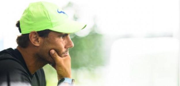 """Rafa Nadal: """"No sé cuándo volveré a jugar"""". Foto: Getty"""