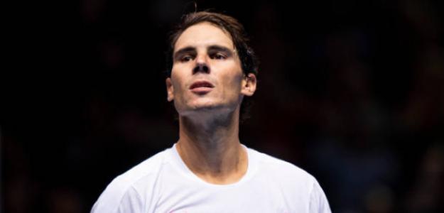 """Rafa Nadal: """"No estoy seguro si veré el Medvedev-Zverev esta noche"""". Foto: Getty"""