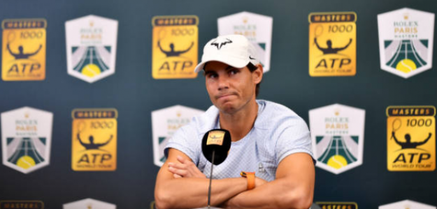 Rafa Nadal atendió a los medios desde París. Foto: Getty