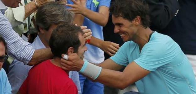 Rafa Nadal y Rafa Maymó. Foto: Getty