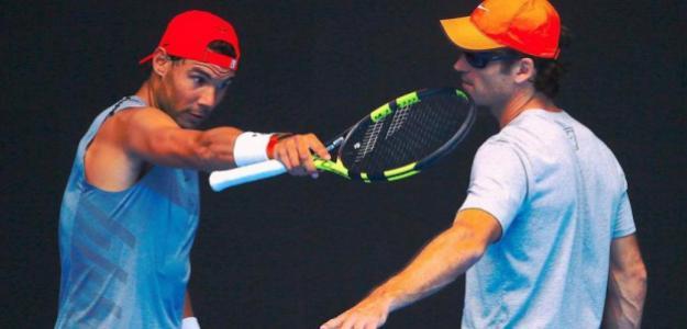 Rafael Nadal y Carlos Moyà, objetivos para 2019. Foto: gettyimages