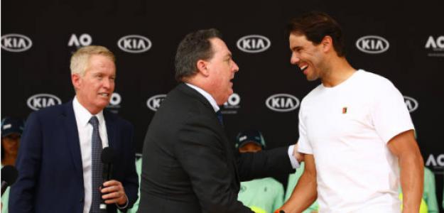 Rafael Nadal, presentación Open de Australia 2020. Foto: gettyimages