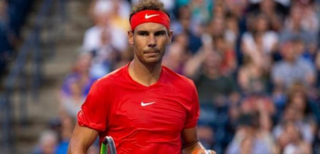 Rafa Nadal pasó a segunda ronda de Toronto tras batir a Paire.