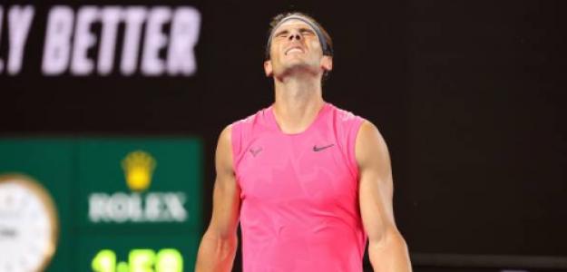 Rafael Nadal pierde con Dominic Thiem. Foto: gettyimages