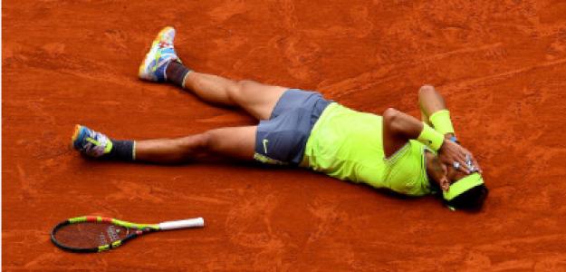 Nadal en Roland Garros 2019. Fuente: Getty