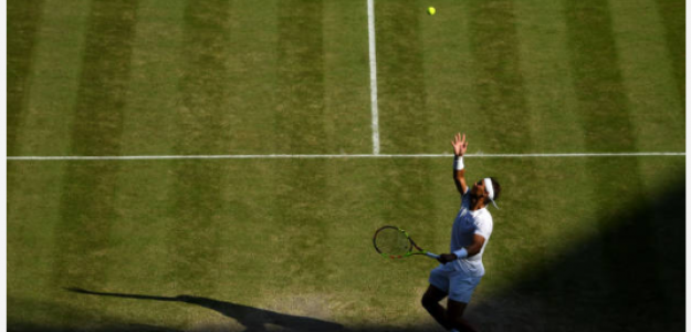 Rafael Nadal se siente especialmente cómodo en un rango de puntos. Fuente: Getty
