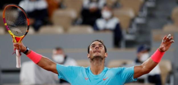 """Rafa Nadal: """"He hecho mi mejor partido del torneo hasta ahora"""". Foto: Getty"""