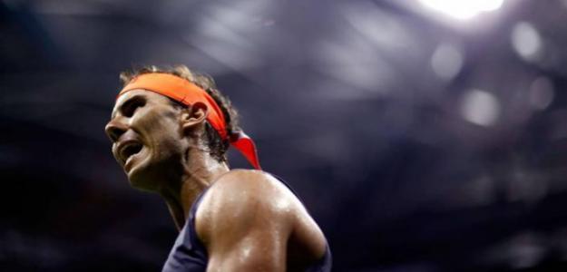 Rafael Nadal, miembro del Big 3 con más roscos encajados. Foto: gettyimages