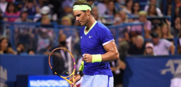 Rafa Nadal, a tercera ronda en Washington. Fuente: Getty